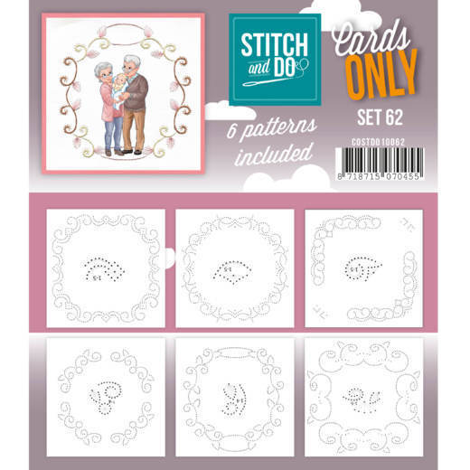 COSTDO10062 Cards Only Stitch 4K - 62