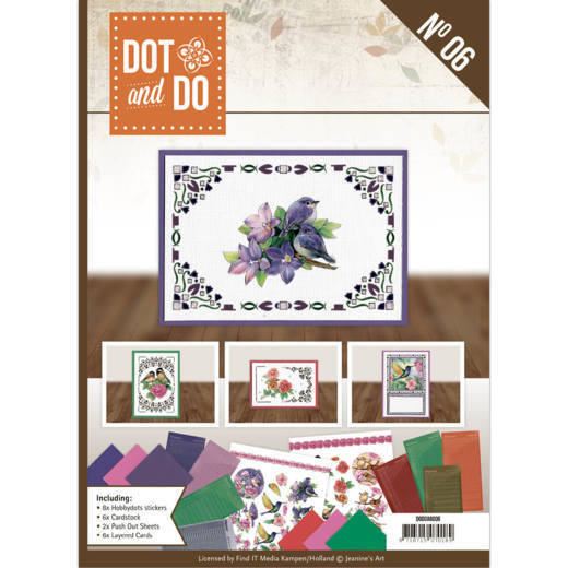 DODOA6006 Dot and Do A6 Book 6