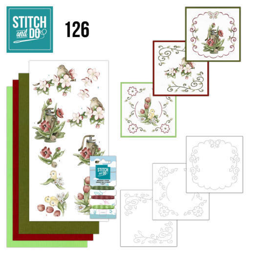 STDO126 Stitch and Do 126 - Spring Delight