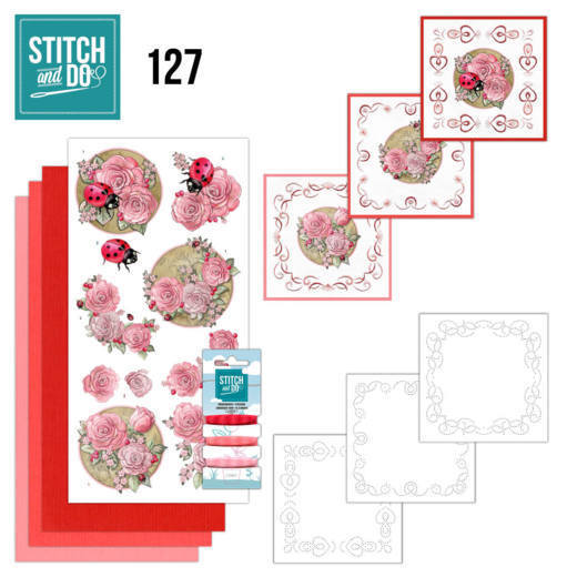 STDO127 Stitch & Do Stitch and Do 127 - Ladybug