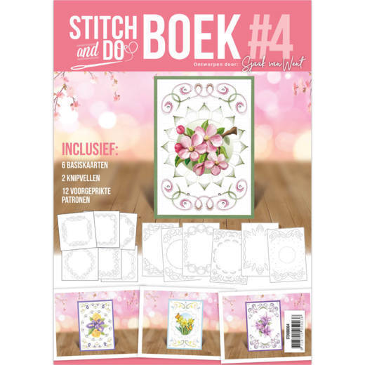 STDOBB004 Stitch and Do Book 4 - Flowers