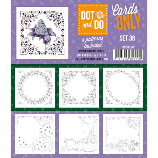 CODO036 Dot and Do - Cards Only - Set 36