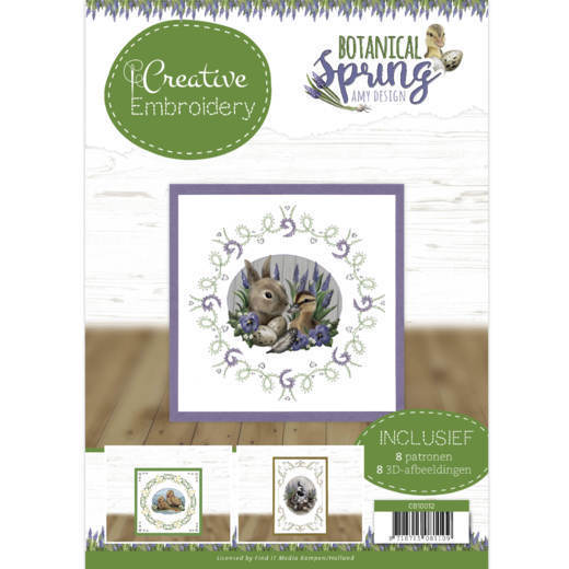 CB10012 Creative Embroidery 12 - Amy Design - Botanical Spring (HJ181)