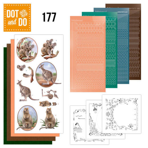 DODO177 Dot and Do 177 Amy Design Wild Animals
