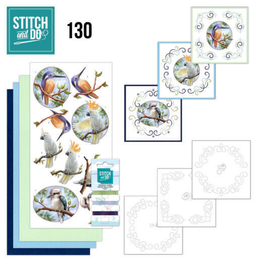 STDO130 Stitch and Do 130 - Amy Design - Wild Animals Outback