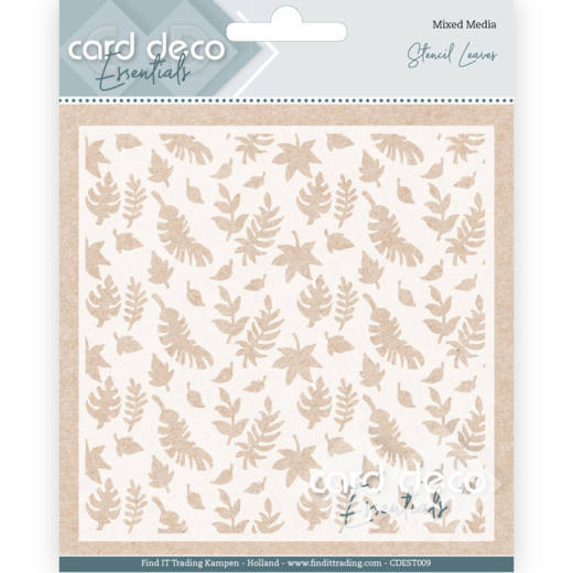 CDEST009 Card Deco Essentials - Stencil Leaves (HJ182)