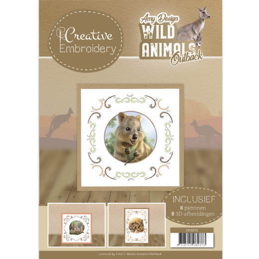 CB10013 Creative Embroidery 13 - Amy Design - Wild Animals Outback (HJ182)