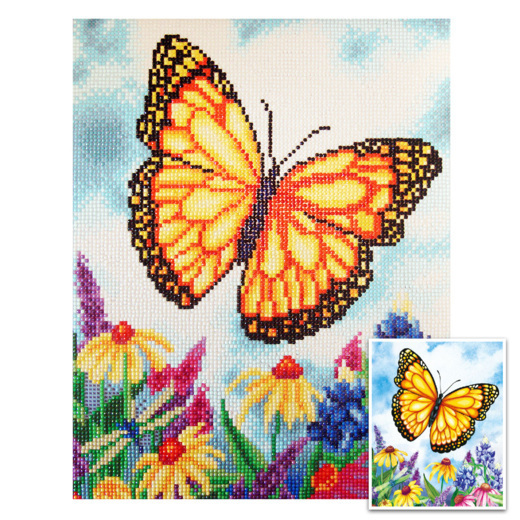 CTDCP-4 Craft Artist Diamond Art - Butterfly
