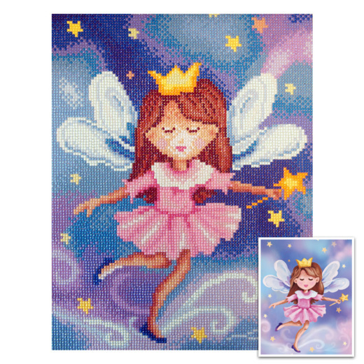 CTDCP-1 Craft Artist Diamond Art - Fairy Princess