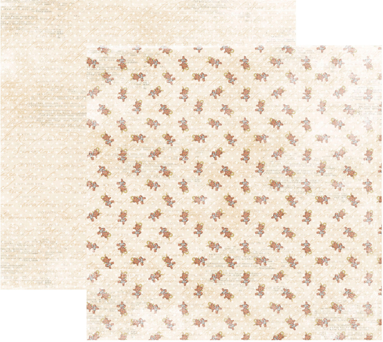 RP0339 It´s a boy Collection - Teddy Bears Double-sided patterned paper 12x12 200 gsm