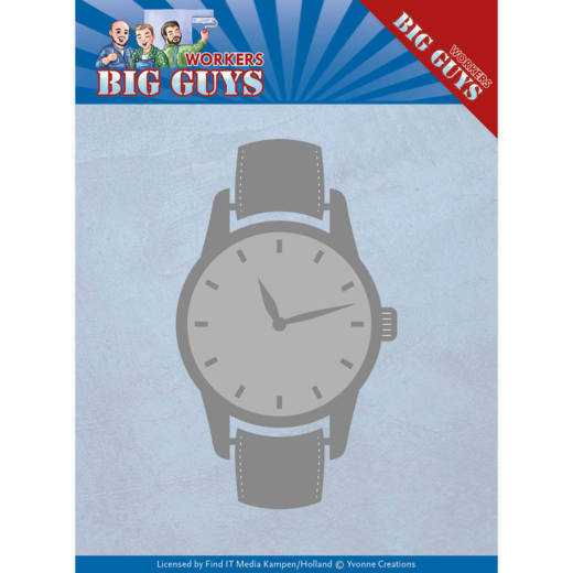 YCD10206 Dies - Yvonne Creations - Big Guys - Watch