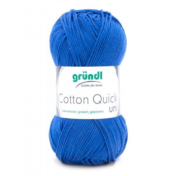 865-89 Cotton Quick uni royalblauw 10x50gr