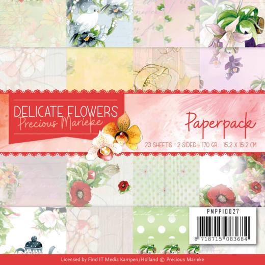 PMPP10027 Paperpack - PM Delicate Flowers (HJ183)