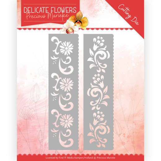 PM10179 Dies - PM Delicate Flowers - Delicate Flower Border (HJ183)