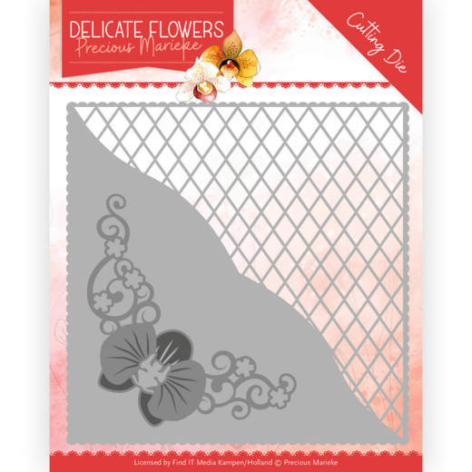 PM10176 Dies - PM Delicate Flowers - Delicate Square (HJ183)