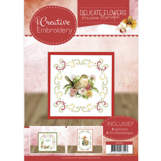 CB10014 Creative Embroidery 14 - PM Delicate Flowers (HJ183)