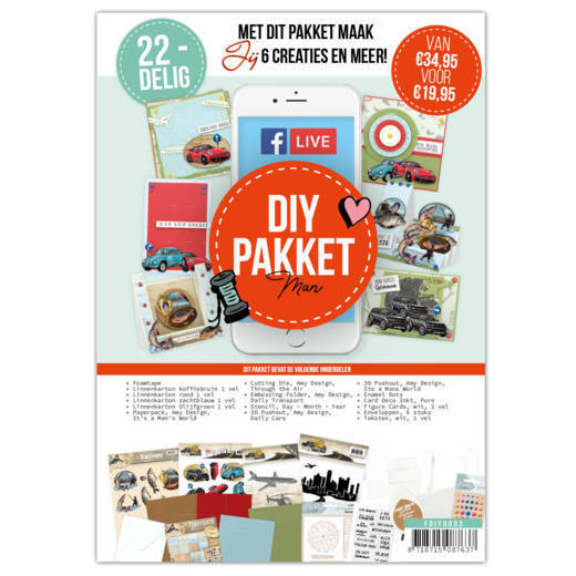 FDIY0003 Facebook Live DIY Pakket - Men