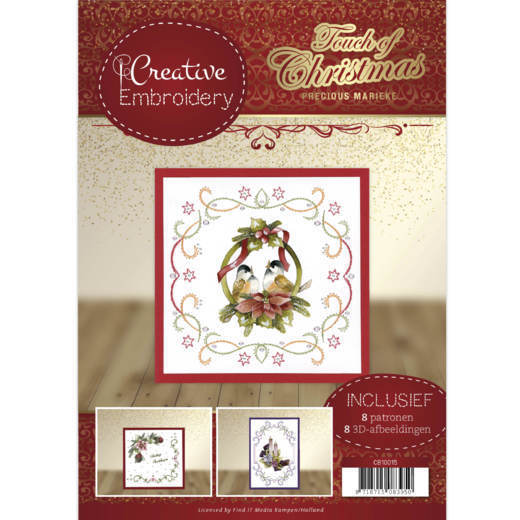 CB10015 Creative Embroidery 15 - Precious Marieke - Touch of Christmas (HJ184)