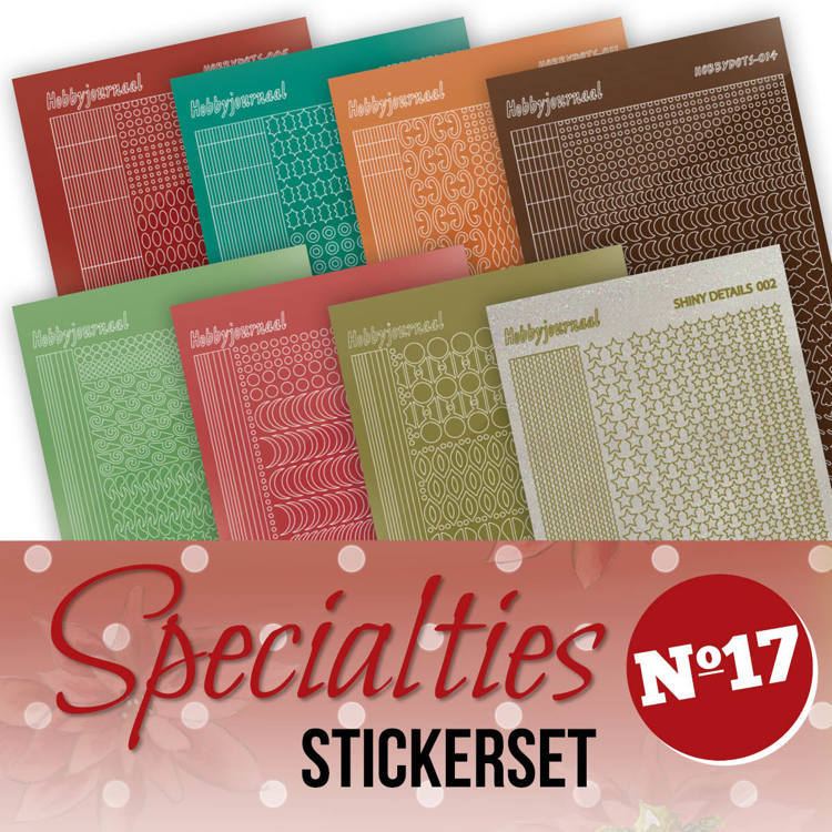 SPECSTS017 Specialties 17 Stickerset