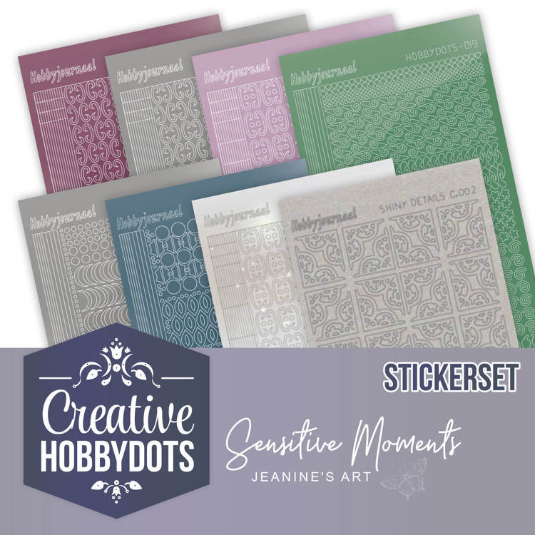 CHSTS004 Creative Hobbydots 4 - Sticker Set