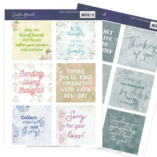 JATD1002 2 Text Designs - Jeanine's Art - Sensitive Moments (EN)