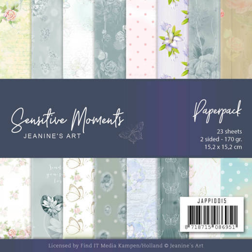 JAPP10015 Paperpack - Jeanine's Art - Sensitive Moments
