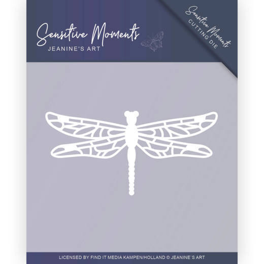 JAD10101 Dies - Jeanine's Art - Sensitive Moments - Dragonfly