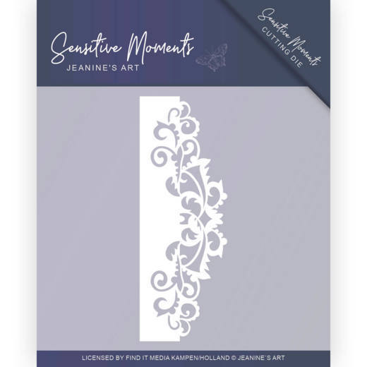JAD10098 Dies - Jeanine's Art - Sensitive Moments - Swirl Border