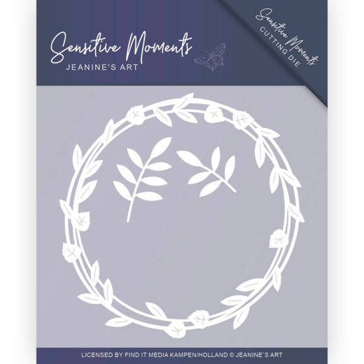 JAD10097 Dies - Jeanine's Art - Sensitive Moments - Leaf Circle