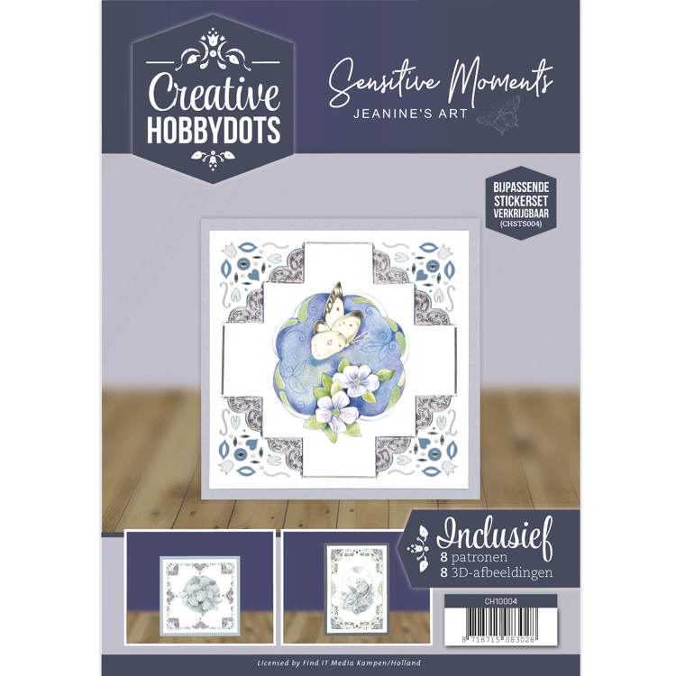 CH10004 Creative Hobbydots 4 - Jeanine's Art - Sensitive Moments
