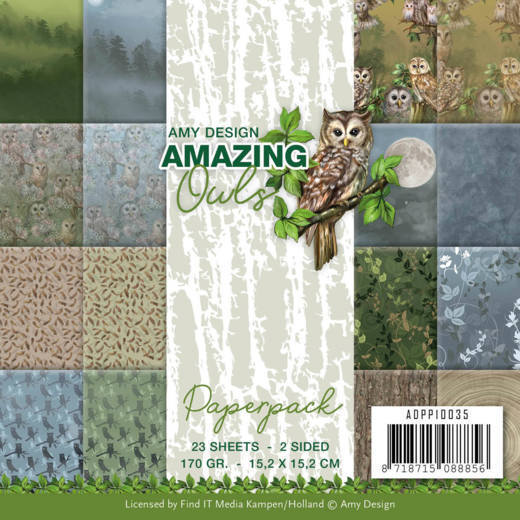 ADPP10035 Paperpack - Amy Design - Amazing Owls