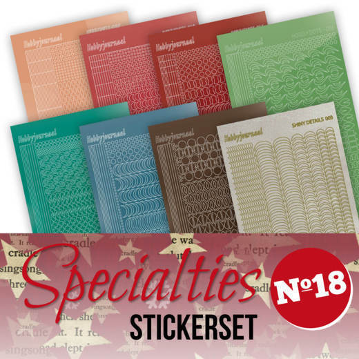 SPECSTS018 Specialties 18 Stickerset