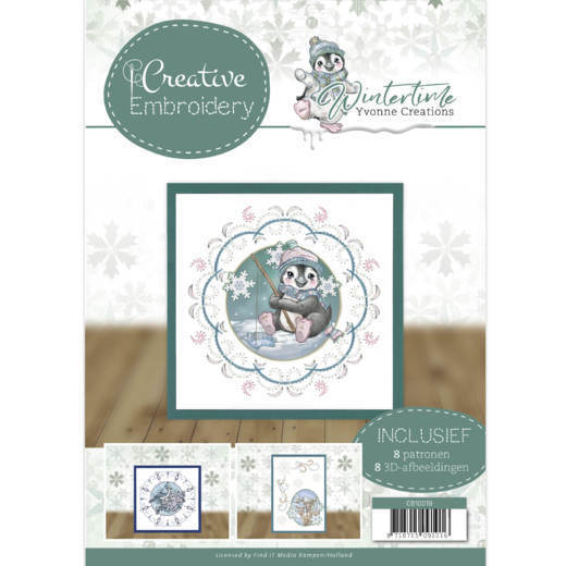 CB10019 Creative Embroidery 19 - Yvonne Creations - Winter Time (HJ188)