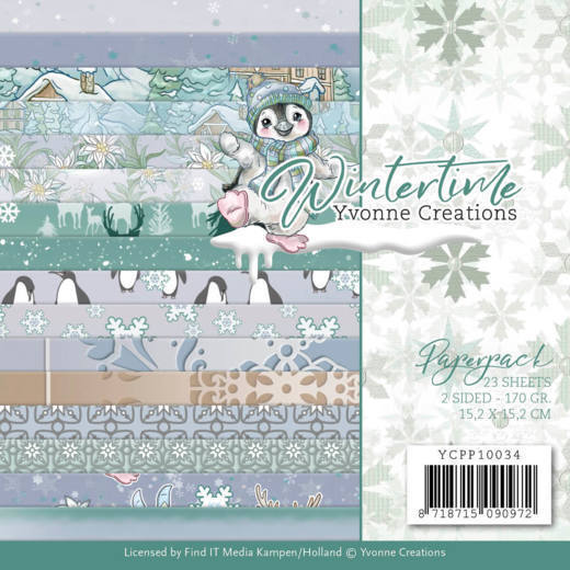 YCPP10034 Paperpack - Yvonne Creations - Winter Time (HJ188)