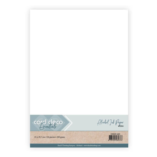 CDEAIP-A401 Alcohol Ink Paper - white