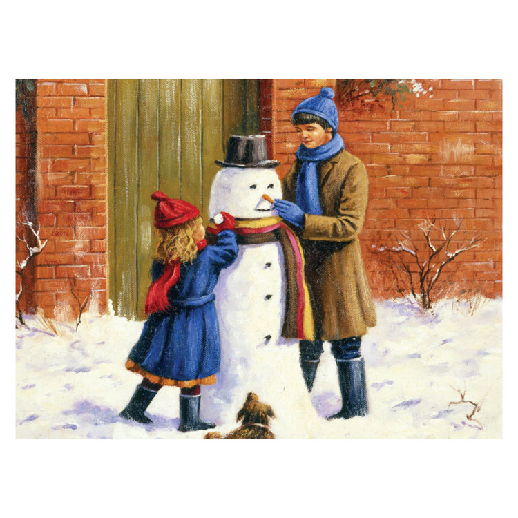 PAL37 PBN - Schilderen op nummer - Adult Large THE SNOWMAN