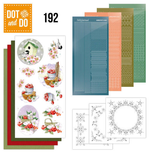 DODO192 Dot and Do 192 - Jeanine's Art - Cold Winter