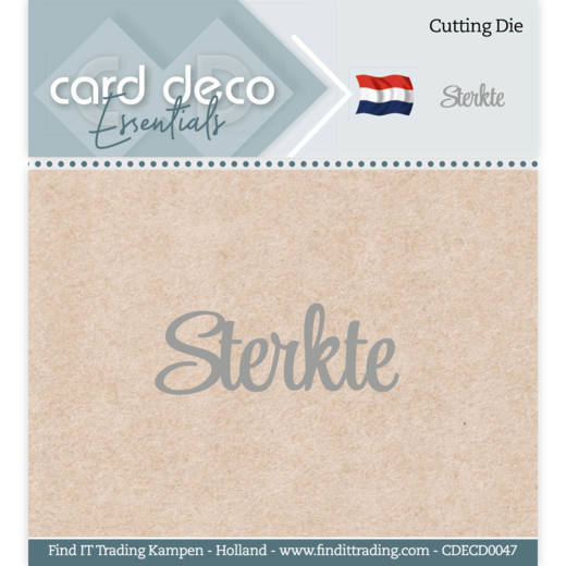 CDEC0047 Card Deco Essentials - Cutting Dies - Sterkte