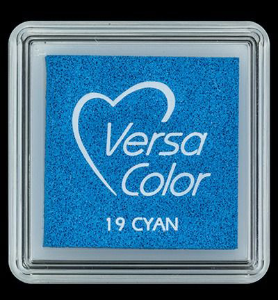 VS-000-019 Versa-color inkpads small Cyan
