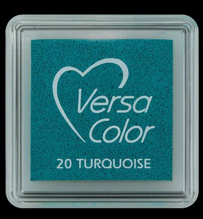 VS-000-020 Versa-color inkpads small Turquoise