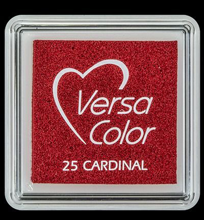 VS-000-025 Versa-color inkpads small Cardinal