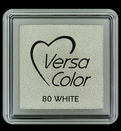 VS-000-080 Versa-color inkpads small White