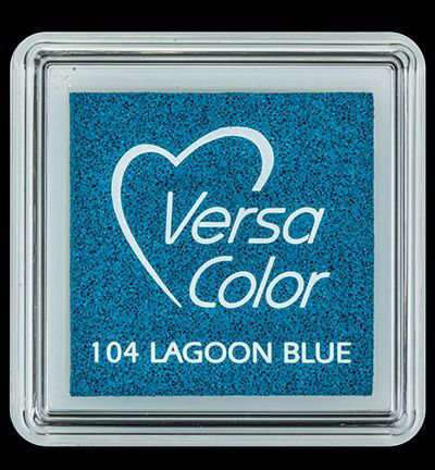 VS-000-104 Versa-color inkpads small Lagoon Blue