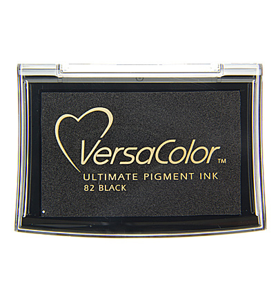 VC1-000-082 Versa Color ink pads large Black
