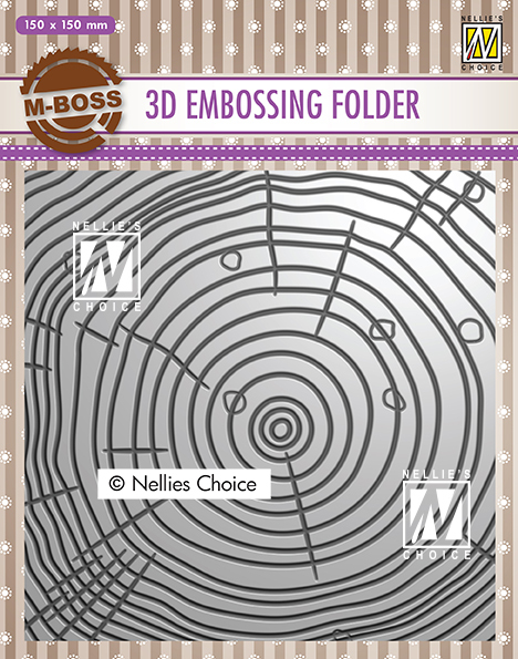 EF3D022 3D Embossing Folders grow rings