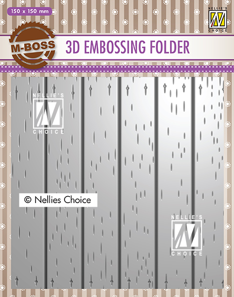 EF3D025 3D Embossing Folders strip pattern-2