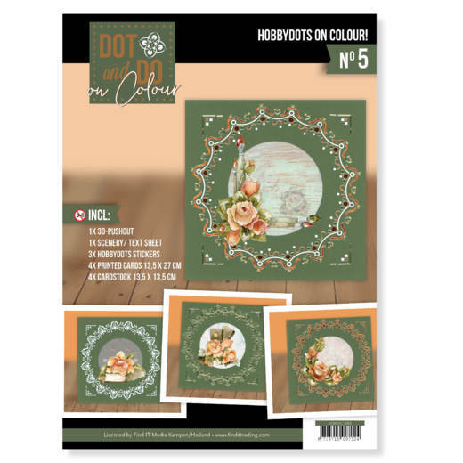 DODOOC10005 Dot and Do on Colour 5 - Precious Marieke - Romantic Roses